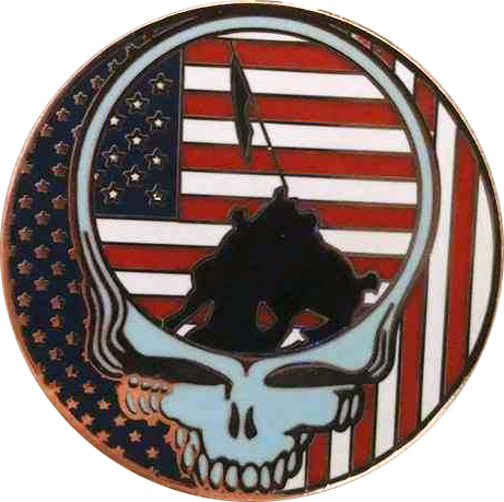 'The Dead' Flag Pin